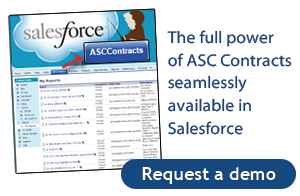 Salesforce Contract Management Demo Request