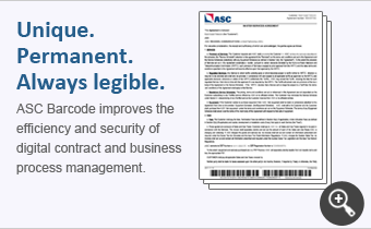 Barcode Security Technology on Contract Example