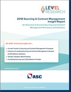 sourcing and contract management insight report
